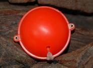 Wasserkugel rot 4