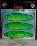 Rhino Softfish - Gold Green Dolphin - Meerforellen Seeforellen Lachse Bodensee-Ostsee