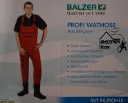 Balzer Profi Neopren Wathose 46/47  - Jede Hose wird nach der Fertigstellung einzeln auf Wasserdichtigkeit geprüft