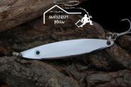 Balzer Seatrout  26 g 8cm  Silber - Mefoblinker aus rostfreiem Messing & salzwasserfesten Tigerstahl-Drillingen