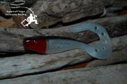 Delalande SANDRA 12cm - Bl.Nacre/Nor T.Rouge - Zander Hecht Barsch Dorsch  - Sundangler Boddenangeln