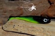 Jackson Zanderbait Lime Black Back 10cm