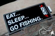 Aufkleber - Angelaufkleber Jenzi Eat Sleep go Fishing
