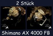Shimano AX 4000 FB - 2 Stück