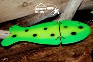 VK Salmon Glow  Popcorn ca.15 cm - ideal in flachen  Wassertiefen