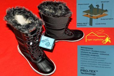 Move Mountains Polar Fox - Größe 37 - Thermostiefel Winterstiefell - auch in anderen Größen erhältlich