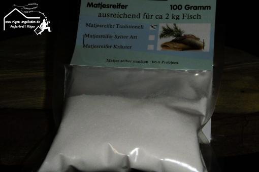 Matjesreifer 100g für 2kg Fisch - Hering Traditioneller Art - Stralsund Greifswald Kiel