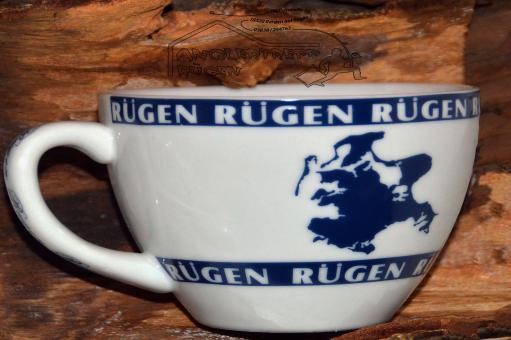 Rügen Tasse Ebbe & Flut  groß - maritim Rügen Kiel Wismar ...