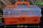 Fladen Angelkoffer + Inhalt - L:ca 34 cm H: 15 cm