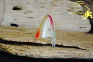BAIT HOLDER Small 3 er  - UV Watermelon- z.B. Stint Sprott - Naturköder zum Schleppen z.B. Lachs Seeforellen Bodensee