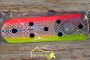 Grizzly Flasher 20,5 cm- Trollingflasher - 18 Schleppeinstellungen + Geräuschkapsel