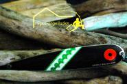 Grizzly Big Salmon -32 - Schw.rot 150 mm Trollinglöffel -Trollingblinker - Schleppblinker