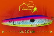 Grizzly Spoon M  13 - ca. 12 cm 21 gr. - Meerforelle Lachs Stralsund  Rügen  Bornholm