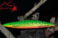 Grizzly Salar 2 - Gr/Ge/OR+Str. 22 g 16cm  Trollinglöffel -Trollingblinker - Schleppblinker