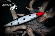 Grizzly Salar 27 - S/W/R Punkte   22 g 16cm Trollinglöffel -Trollingblinker - Schleppblinker