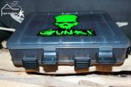 Gunki Köderbox mit Belüftung - klein 21x17x5 cm