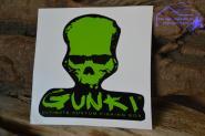 Aufkleber Gunki - Grün Schwarz