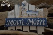Moin Moin - maritime Deko - Deko Schild