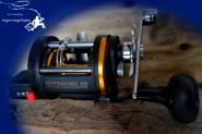 WFT Offshore LW 20 RH -Trollingrolle Multirolle