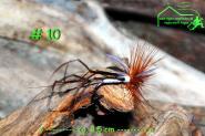 Turrall  Daddy Long Legs  # 10 - Handgebunden - Meerforellen Seeforellen Bachforellen