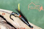 Turrall  Double Salmon  # 6 - Handgebunden - Meerforellen Lachse Seeforellen