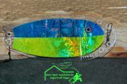 VK Salmon UV 100 ca.19cm - kann 2-fach verstellt werden - Ideal für alle Wassertiefen
